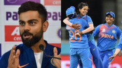 Fans Claim Kohli Sehwag Wish Cost The India Women Wc T20 Final Match