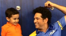 Irfan Pathan S Son S Boxing Match With Sachin Tendulkar