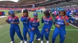 Thailand S Women Cricket Team S Dance In Rain Wins Social Media