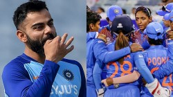 Kohli Congratulated India Women S Team For Entering T20 World Cup Final
