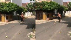 Very Novel Sport Found In A Street