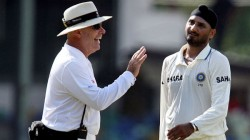 Australian Umpire Refused To Touch Harbhajan Singh S Hat