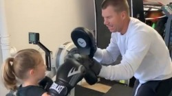 David Warner Gives Boxing Lessons To Daughter Shares Video On Instagram