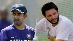 Gautam Gambhir Slams Afridi Again For His Comments In His Auto Biography