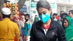 Bangaldesh Women Cricketer Jahanara Alam Helps Poor