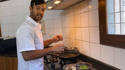 Bcci Shared A Video Of Mayank Agarwal Showcasing Culinary Skills