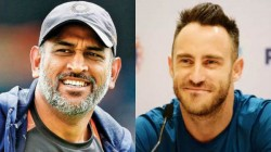 Faf Du Plessis Revealed Secret Behind Ms Dhoni S Success In The Ipl