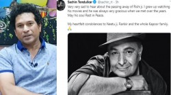Sachin Sehwag Kohli Lead Sports Fraternity To Condole His Rishi Kapoor Death