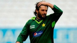 Shahid Afridi Wants Stern Action Against Corruption In Pak Cricket