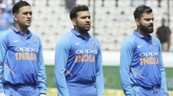 Dhoni Got Angry When Rohit Sharma Kohli Collide In A Match