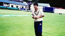 Sourav Ganguly Shared His Debut Test Match Photo