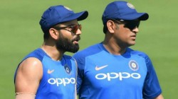 Virat Kohli Says Ms Dhoni Played A Big Role In Him Becoming Captain
