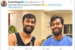 Krunal Pandya Calls Brother Hardik Pandya His Source Of Motivation