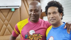 Sachin Wishes Brian Lara For His Birth Day