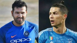 Cristiano Ronaldo Is The King Says Rohit Sharma