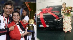 Cristiano Ronaldo Gifts Her Mother A Car