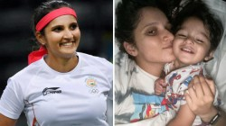 We Woke Up Like This Sania Mirza Posts Adorable Picture With Son Izhaan
