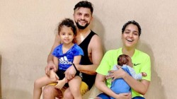 Suresh Raina Posts His Family Photo And Calls To Spread Love Among Family Members