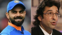 Can Kohli Break Sachin S Many Records Wasim Akram Doubts