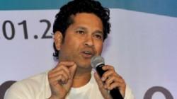 Sachin Tendulkar Bats For Barber Suraksha Program