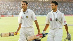 Rahul Dravid Ultimate Team Man Game S Most Committed Student Vvs Laxman