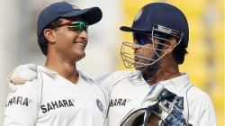 Dhoni Gave Captaincy To Ganguly On His Last Match