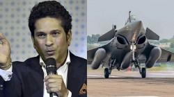 Sachin Tendulkar Congratulates Indian Air Force As Rafale Fighter Jets Arrive In India