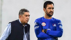 Dhoni Refused An Outstanding Player Reveals Csk Owner Srinivasan