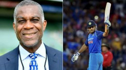 What A Career This Man Had Michael Holding On Ms Dhoni