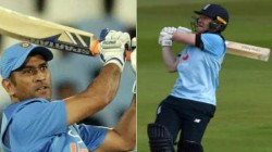 Dhoni S Sixer Record As Captain Set Aside By Eoin Morgan