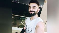 No Days Off Virat Kohli Sweats It Out After Reaching Dubai