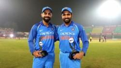 Icc Odi Rankings Kohli Rohit Hold On To Top Two Batting Spots
