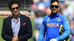 Suggested To Bcci That Ms Dhoni Should Be Made Captain Sachin Tendulkar