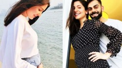 Anushka Sharma Shared Her Baby Bump Pic Virat Kohli S Adorable Comment