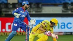 Ipl 2020 Csk Vs Dc Murali Vijay Leaked 2 Runs And Dhoni Not Happy