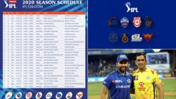 Ipl 2020 Schedule Released Here Is The Full Ipl 2020 Match List