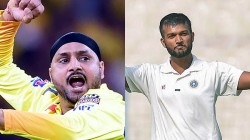 Csk Jalaj Saxena Can Replace Harbhajan Singh Says Deep Dasgupta
