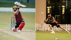 Ipl 2020 Virat Kohli Focused On Rcb Training Session