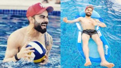 A Proper Day At The Pool Virat Kohli S Chill Moments With His Teammates