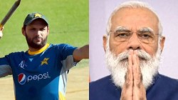 Shahid Afridi Says India Pakistan Cricket Never Happens When Modi Government In Power
