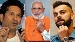 Pm Modi On His 70th Birthday Virat Sachin Yuvraj Leads Wishes