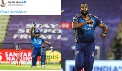 Ipl 2020 Mi Pandya Support Black Lives Matter In The Match Against Rr