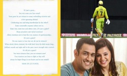 Ipl 2020 Csk Skipper Dhoni Wife Sakshi Writes Heart Whelming Letter To Fans