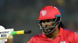 Chris Gayle Will Be In Action Tonight Against Rcb