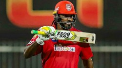 Ipl 2020 Gayle Fined For Smashing The Bat In The Floor In Kxip Vs Rr Match