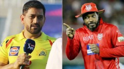 Ipl 2020 What Dhoni Talked To Gayle After The Kxip Match