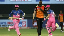 Ipl 2020 Rr Vs Srh Robin Uthappa Gifted His Wicket To Srh