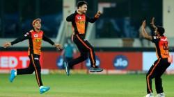 Ipl 2020 Srh Vs Kxip Rashid Khan Double Wicket Maiden Against Kxip