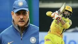 Horseman Outstanding Ravi Shastri On Ravindra Jadeja S Batting Heroics Against Kkr