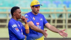 Dwayne Bravo Could Be Out For A Couple Of Weeks Says Stephen Fleming